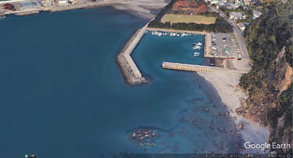 小江旧港全体図